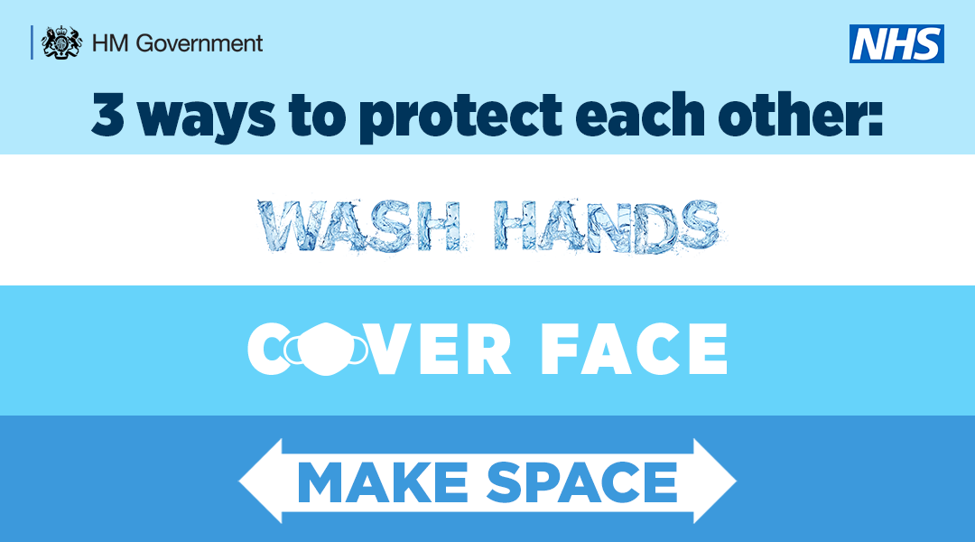 3 ways to protect each other poster